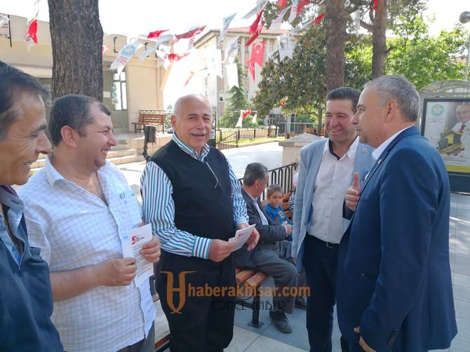 Bakırlıoğlu, Demirci ve Köprübaşı'nı Ziyaret Etti