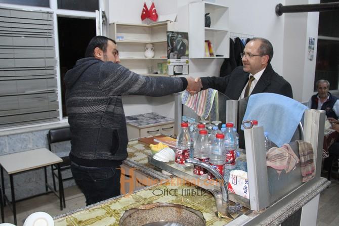 Aday Adayı Ali Velestin Seçim Çalışmalarına Devam Ediyor