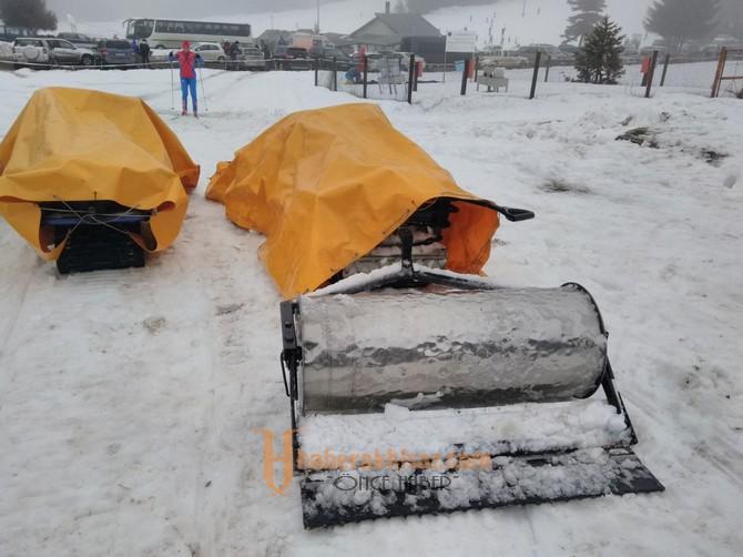 Avrupa Şampiyonasının Kar Araçlarını Kayhan Ergün MTAL İmal Etti