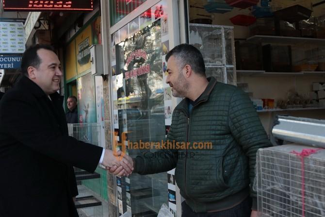 Başkan Besim Dutlulu, esnafın yeni yılını kutladı