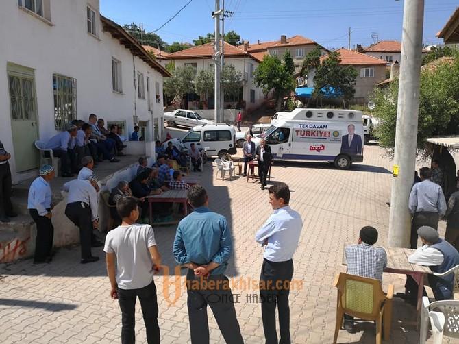 Bakırlıoğlu'ndan Dağdere, Hanpaşa, Kömürcü Ziyaretleri