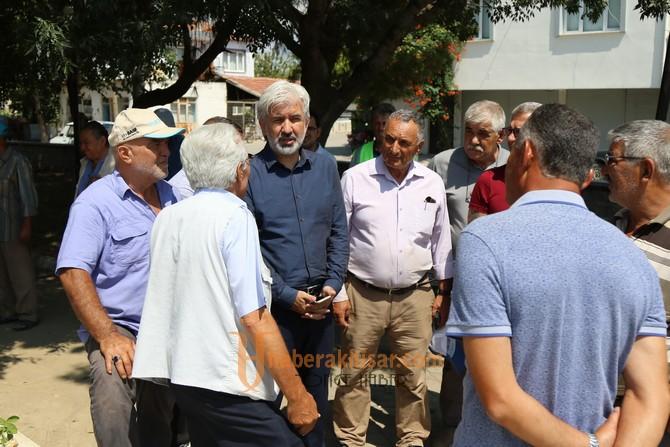Belediye Başkanı Salih Hızlı, Beyoba Mahallesini ziyaret etti