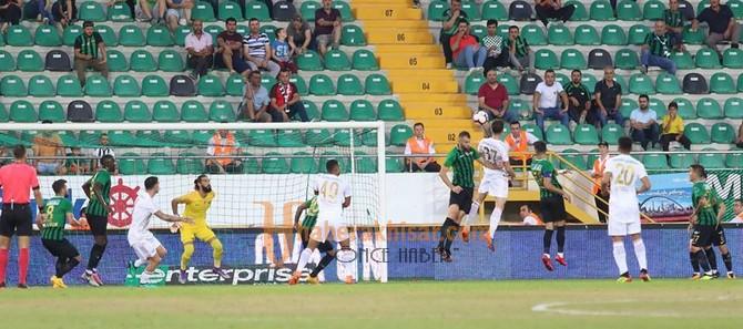 Akhisarspor; 1 - Sivasspor; 1