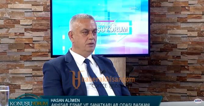 Konuşuyorum'un Bu Haftaki Konuğu Hasan Ali Men Oldu