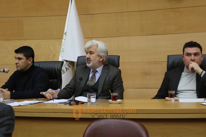 Akhisar Belediyesi 2019 Yılı İlk Meclis Toplantısı Yapıldı