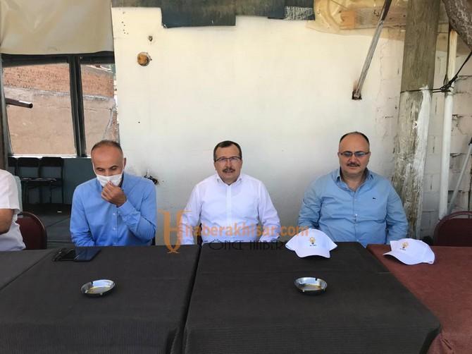Milletvekili Uğur Aydemir, Akhisar'daki Barajlarda İnceleme Yaptı