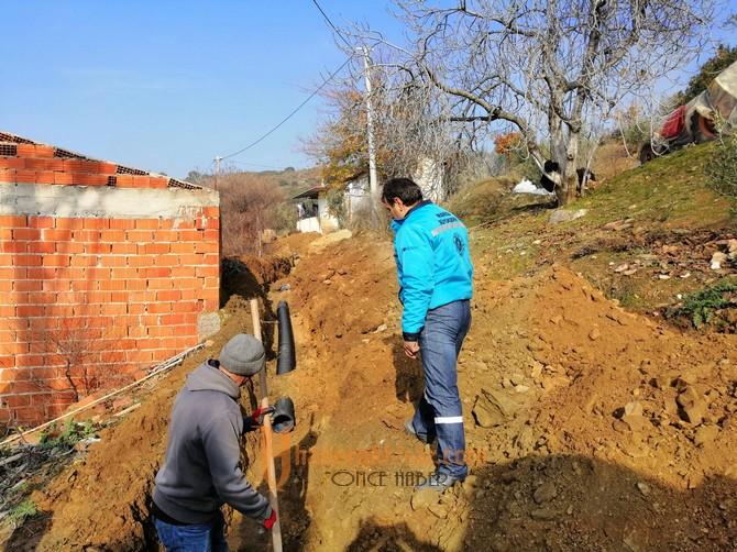Küçükhasköy'de Kanalizasyon Sıkıntısına Son Verildi