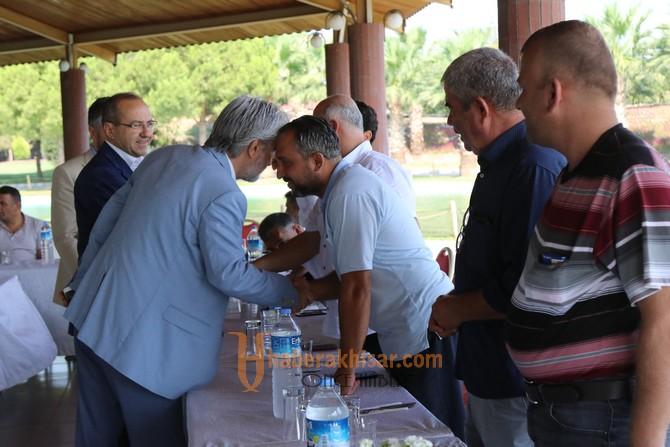 Belediye Başkanı Hızlı, hemşehri dernekleri ile bir araya geldi