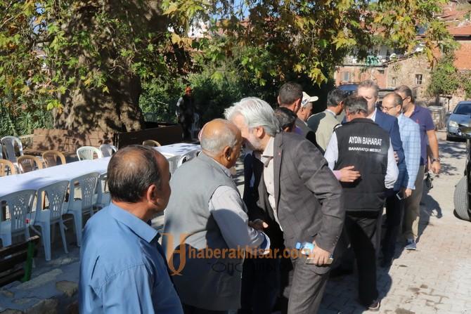 Akhisar Belediye Başkanı Salih Hızlı'dan kırsal mahalle ziyaretleri