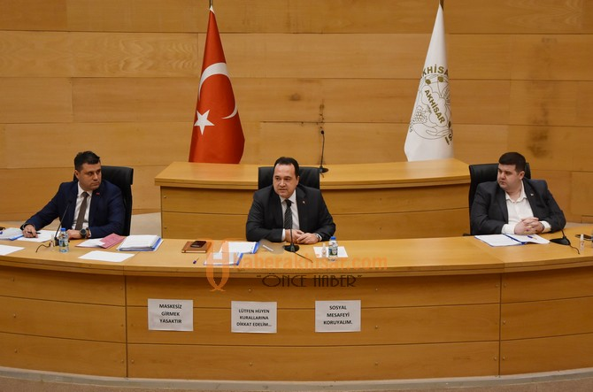 Akhisar'da Yeni Yılın İlk Meclis Toplantısı Yapıldı
