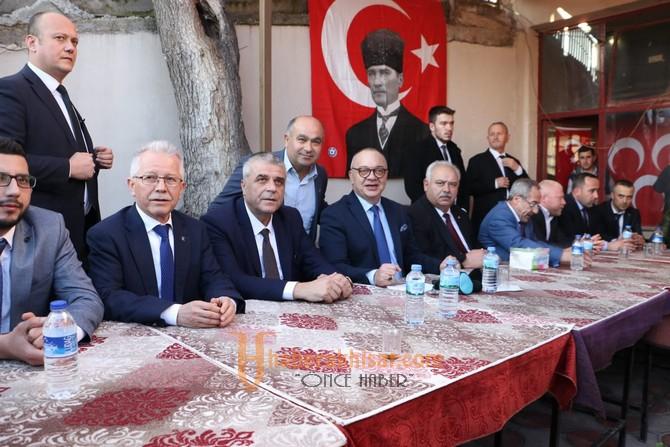 Başkan Ergün, Selçikli'de Coşkuyla Karşılandı