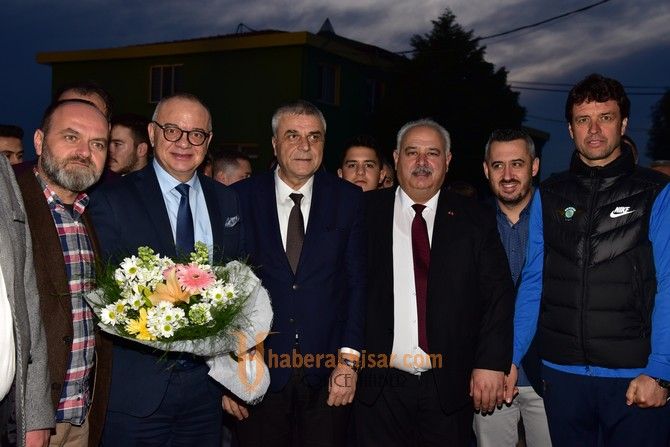 Başkan Ergün'den Akhisarspor'a Moral Ziyareti