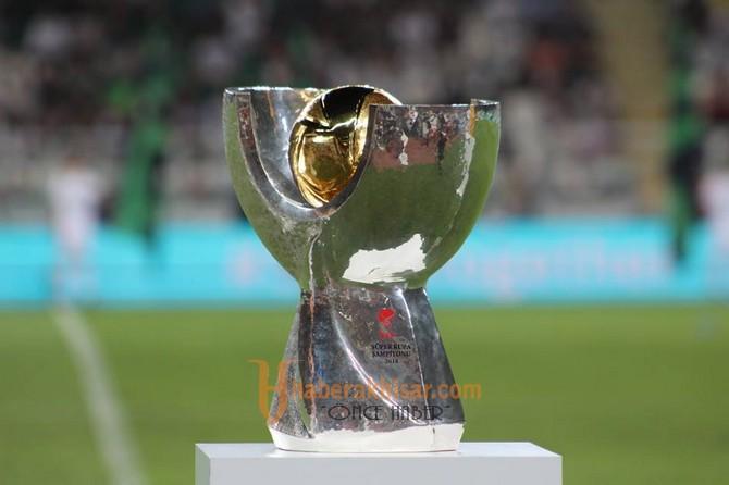 Süper Kupa Akhisarspor'un