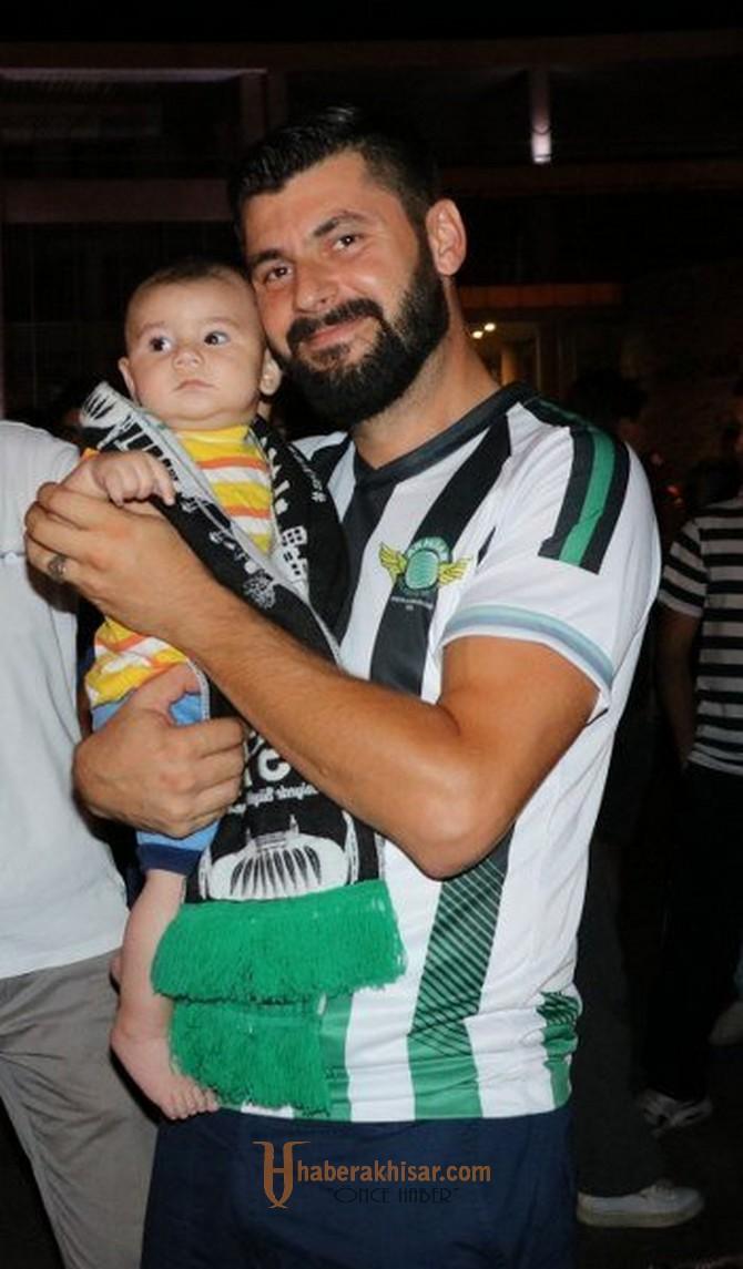 Akhisar'da Süper Kupa Sevinci