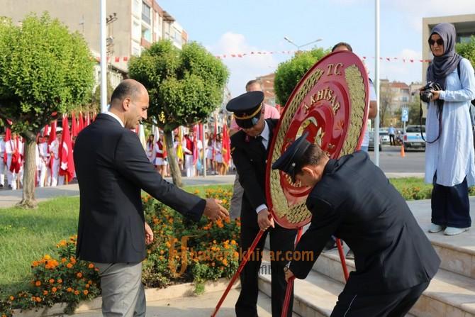 Akhisar'ın kurtuluşunun 96.yılı coşkuyla kutlandı