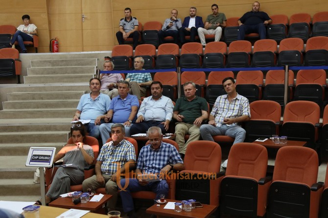 Akhisar Belediyesi 2018 yılı Eylül ayı meclis toplantısı yapıldı