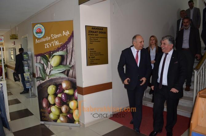 ATSO Başkan Adayı Erdayıoğlu'ndan Ziraat Odasına Ziyaret