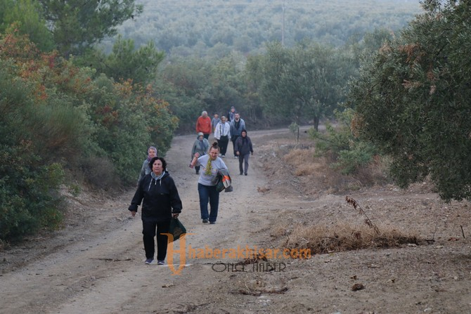 Doğa yürüyüşlerinde bu hafta rota Çanakçı parkuru oldu