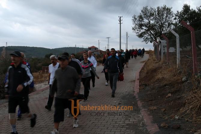 Doğa yürüyüşü sevenleri hafta sonunda Kadıdağ'da buluştu