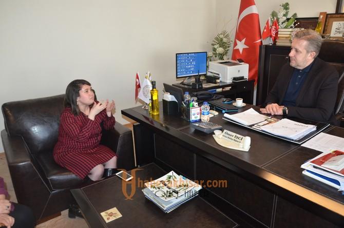 ABZED'den Belediye Başkanı Salih Hızlı'ya teşekkür