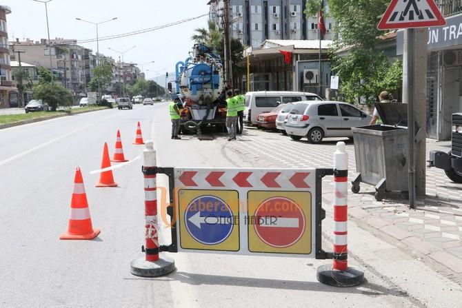 Akhisar'da Su Taşkınlarına Karşı Önlemler Alındı