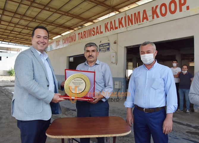 Çamönü Halkından Başkan Besim Dutlulu'ya Teşekkür