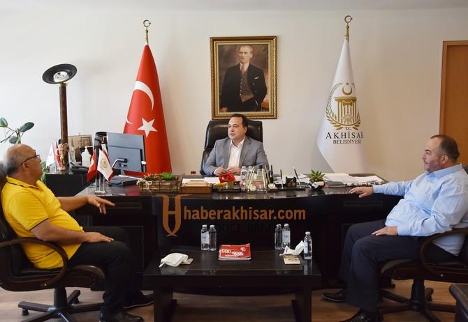 Federasyon Başkanından Başkan Dutlulu'ya Teşekkür Ziyareti