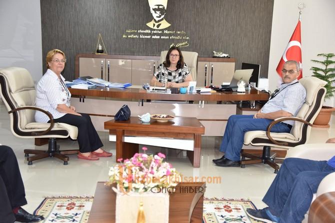 Zeytinliova'dan Genel Müdür Başaran'a Ziyaret