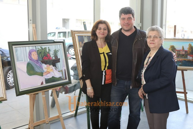 Tutku Resim Sergisi açıldı