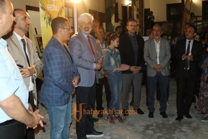Tarihi Dombaycıoğlu Han'ında Çağlak Festivali sergisi açıldı