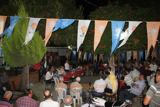 AK Parti Manisa Milletvekili Uğur Aydemir, Turgutlu'da