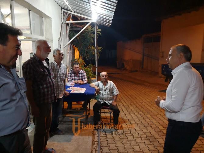 Bakırlıoğlu'nun Arabacı Bozköy ve Büknüş Ziyaretleri