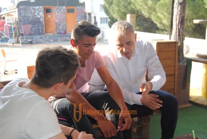 Gördes'ten Bakırlıoğlu'na Sevgi Seli