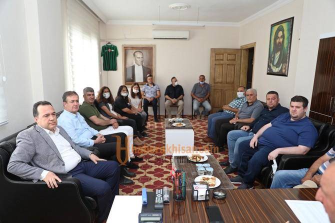 Akhisar Belediyesi'nden Alevi Kültür Derneği'ne Konferans Salonu
