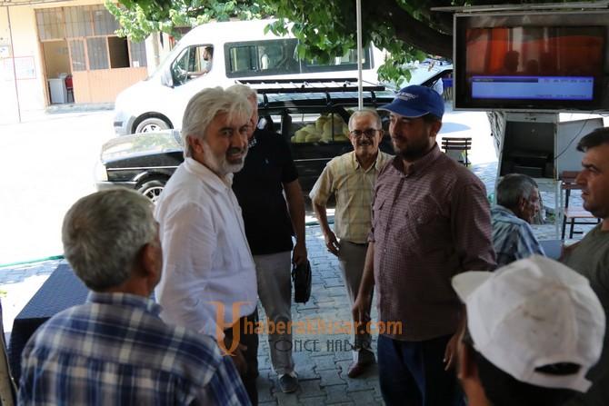 Belediye Başkanı Salih Hızlı, Ballıca Mahallesinin konuğu oldu