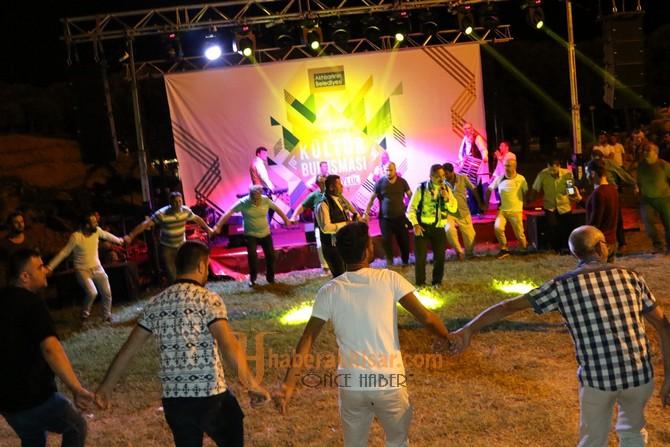 Kültür Buluşması'nın ilk gecesinde Erzurumlular gecesi yaşandı