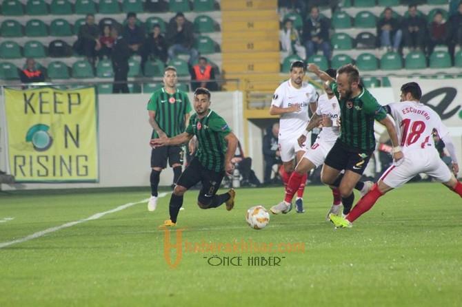 Akhisarspor: 2 - Sevilla: 3