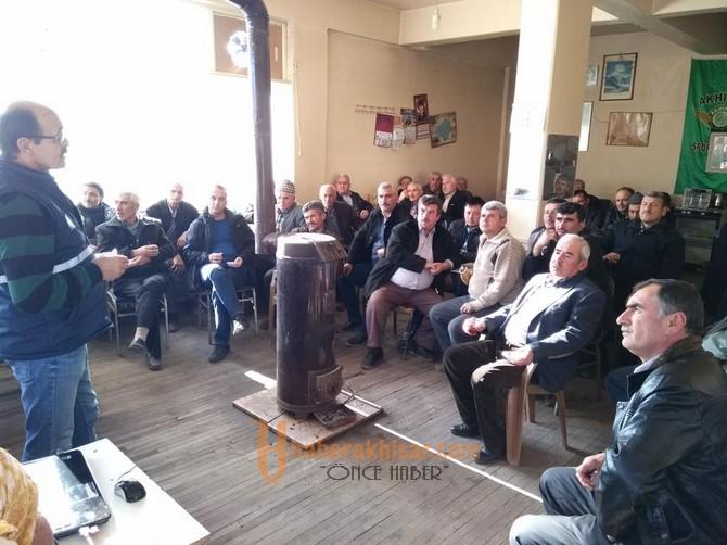 2018'in İlk Çiftçi Toplantısı Dağderede Yapıldı