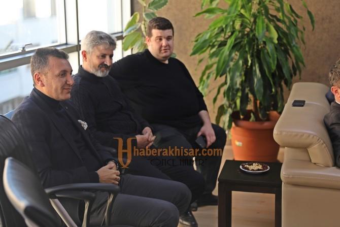 Belediye Başkanı Besim Dutlulu'dan ATSO'ya ziyaret