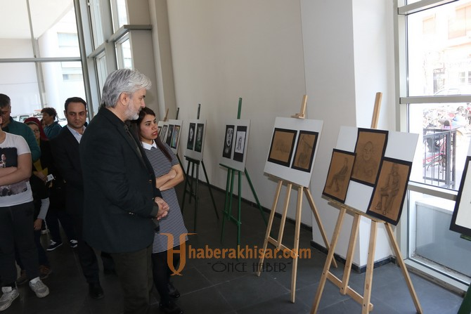 Çocuk ve Genç resim sergisi açıldı