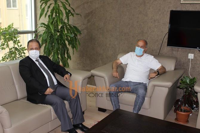 İl Emniyet Müdürü Uslusoy'dan ATSO'ya Ziyaret