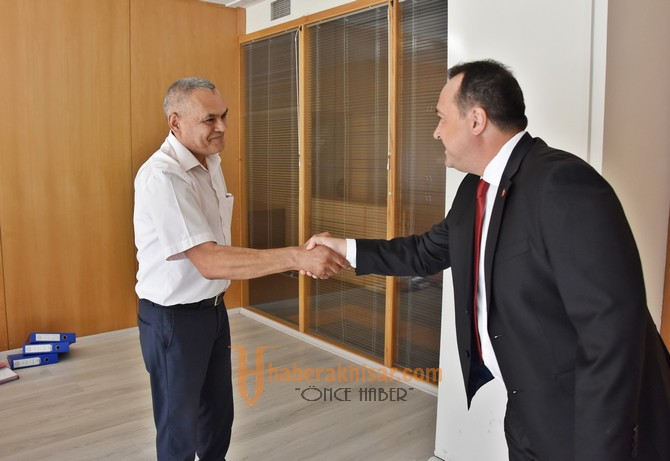 Başkan Dutlulu, belediye çalışanları ile bayramlaştı