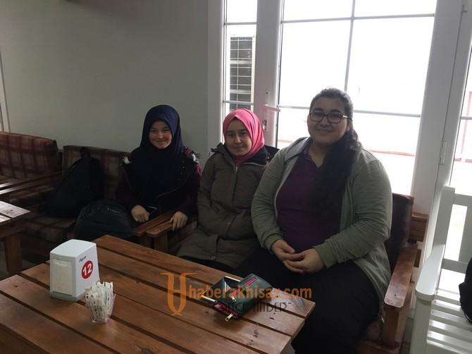 Zeynep Gülin Öngör MTAL'den Down Cafe'ye ziyaret