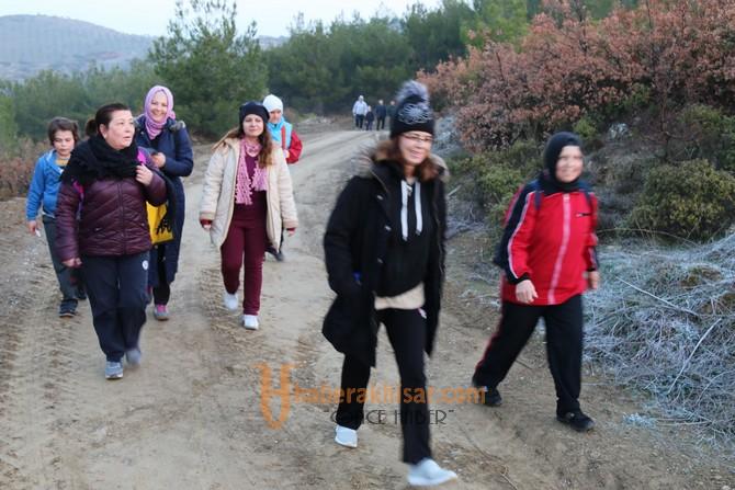 Doğa yürüyüşünün 17.hafta parkuru Hasköy parkuru oldu