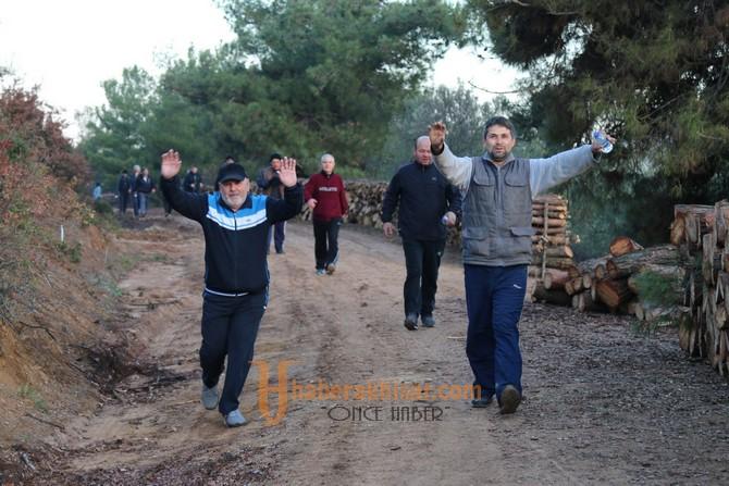 Doğa yürüyüşünün 21.hafta parkuru da Musaca parkuru oldu