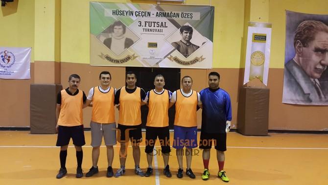 Futsal turnuvasında 36 maç geride kaldı