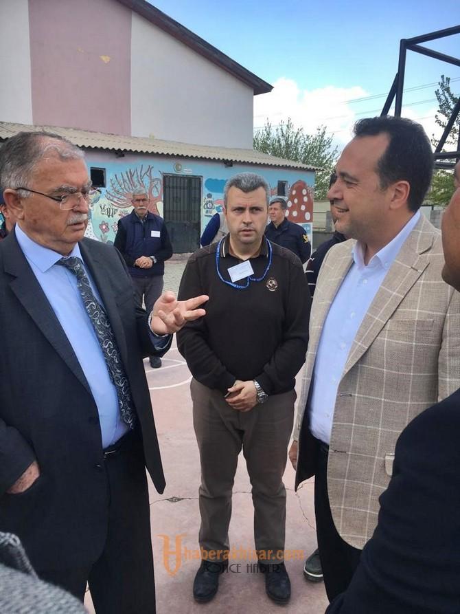 İlçe Güvenlik Kurulu toplantısı Beyoba Mahallesinde yapıldı
