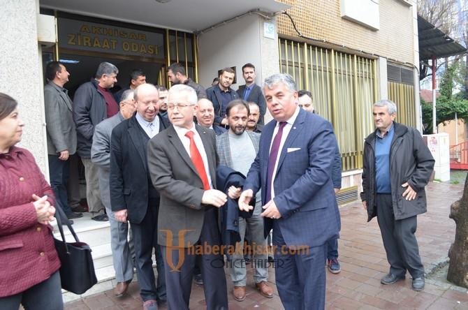 AK Parti ilçe teşkilatından, Ziraat Odasına ziyaret