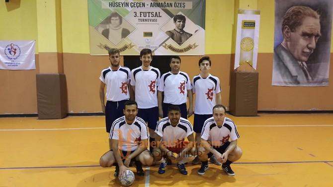 Futsal turnuvasında 39 maç geride kaldı