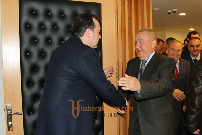 Akhisar Mermerciler Kooperatifinden, Başkan Dutlulu'ya tebrik ziyareti